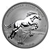 Australian Silver Stock Horse 2015 - 1 oz thumbnail