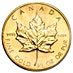 Canadian Gold Maple 1987 - 1/2 oz thumbnail