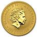 Australian Gold Kangaroo Nugget 2011 - 1 oz thumbnail