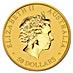 Australian Gold Kangaroo Nugget 2014 - 1/2 oz thumbnail