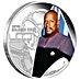 Tuvalu Silver Star Trek Series 2015 - Captain Benjamin Sisko - 1 oz thumbnail