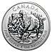 Canadian Wildlife Series 2013 - Wood Bison - 1 oz thumbnail