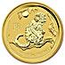 Australian Gold Lunar Series 2016 - Year of the Monkey - 2 oz thumbnail