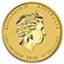 Australian Gold Lunar Series 2016 - Year of the Monkey - 1/10 oz thumbnail