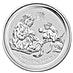 Australian Silver Lunar Series 2016 - Year of the Monkey - 1 kg thumbnail
