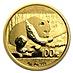Chinese Gold Panda 2016 - 8 g thumbnail