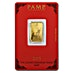PAMP Lunar Series 2015 Gold Bar - Year of the Goat - 5 g thumbnail