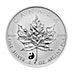 Canadian Silver Maple 2016 - Yin and Yang Privy - Reverse Proof - 1 oz thumbnail