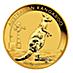 Australian Gold Kangaroo Nugget 2012 - 1 oz thumbnail