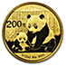 Chinese Gold Panda 2012 - 1/2 oz thumbnail