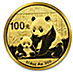 Chinese Gold Panda 2012 - 1/4 oz thumbnail