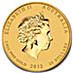 Australian Gold Lunar Series 2012 - Year of the Dragon - 1/4 oz thumbnail
