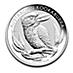 Australian Silver Kookaburra 2012 - 1 kg thumbnail