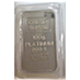 Credit Suisse Platinum Bar - Circulated in good condition - 100 g thumbnail
