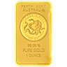 Perth Mint Gold Bar - Old Style Swan - 1 oz