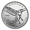 Canadian Red Tailed Hawk 2015 - 1 oz