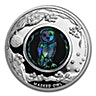 Australia 2014 Silver Opal Masked Owl - 1 oz