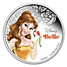 Niue 2015 Silver Disney Princess Belle - 1 oz