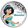 Niue 2015 Silver Disney Princess Jasmine - 1 oz