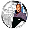 Tuvalu Silver Star Trek Series 2015 - Captain Benjamin Sisko - 1 oz