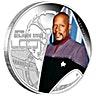 Tuvalu 2015 Silver Star Trek Series - Captain Benjamin Sisko - 1 oz