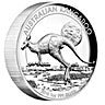 Australian Silver Kangaroo 2015 - High Relief - Circulated in good condition - 1 oz