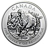 Canadian Wildlife Series 2013 - Wood Bison - 1 oz