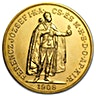 Hungary Gold 100 Korona 1908 - 0.9802 oz - Restrike