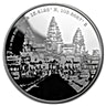 Niue 2015 Silver Forgotten Cities Angkor Wat - 1 oz