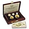 Singapore Gold Lion 1991 - Proof - 5 coin set