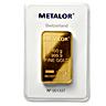 Metalor Gold Bar (Circulated in good condition)