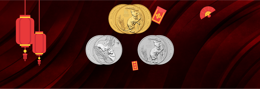 Australian Gold & Silver & Platinum Lunar 2020 Available for Ordering!