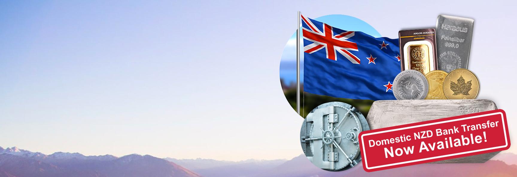 Buy & Store Bullion in New Zealand with BullionStar