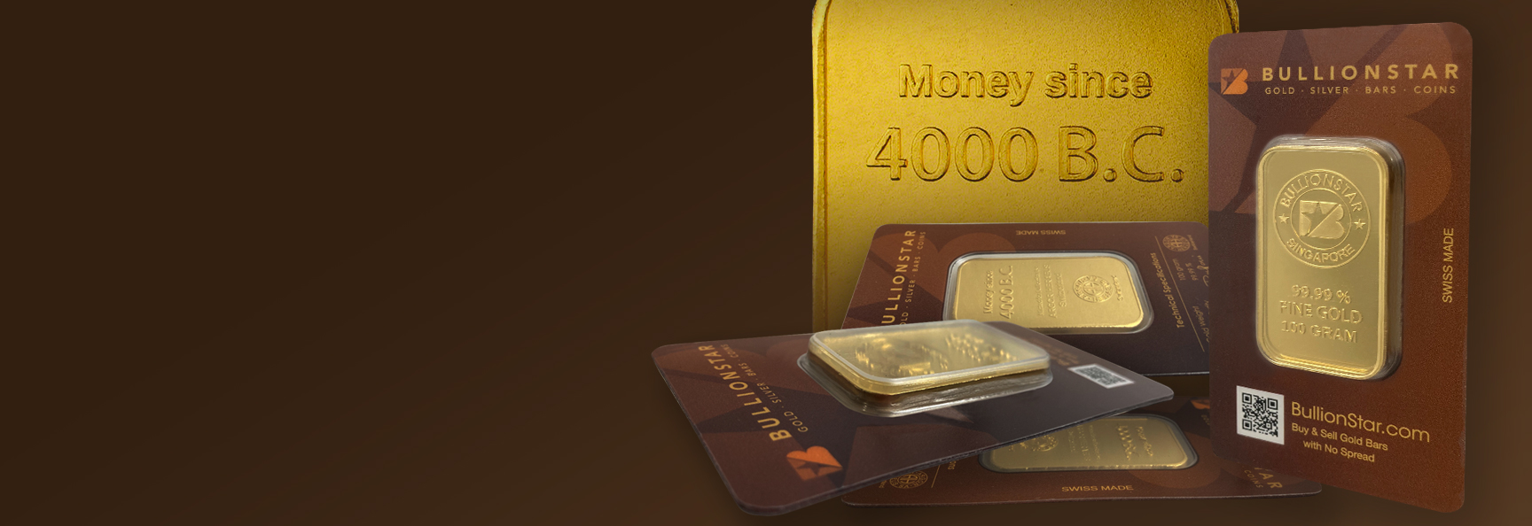 Gold Bars with No Spread