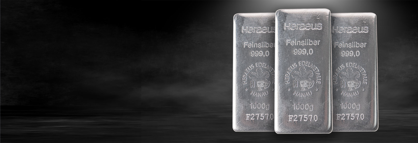 Heraeus 1 kg silver Bars - Back in Stock