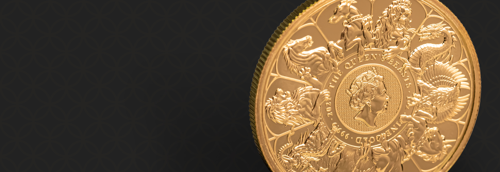 United Kingdom Gold  Queen's Beast  Completer 2021  - 1 oz