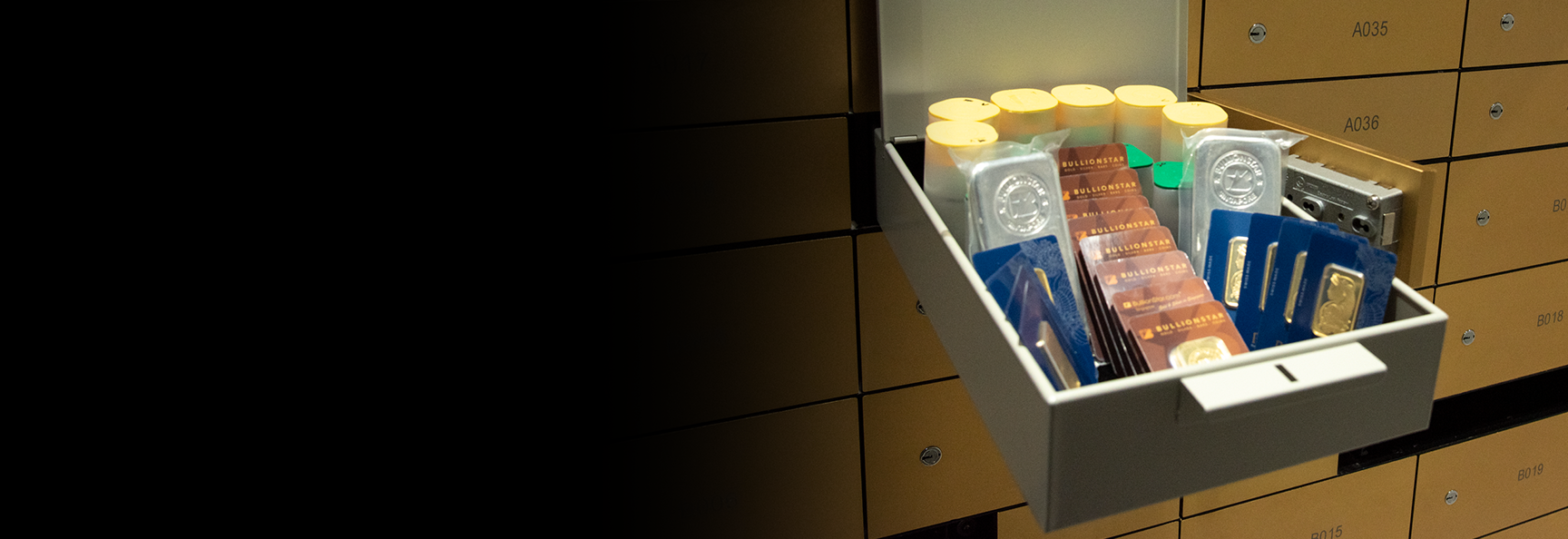 Safe Deposit Boxes Now Available