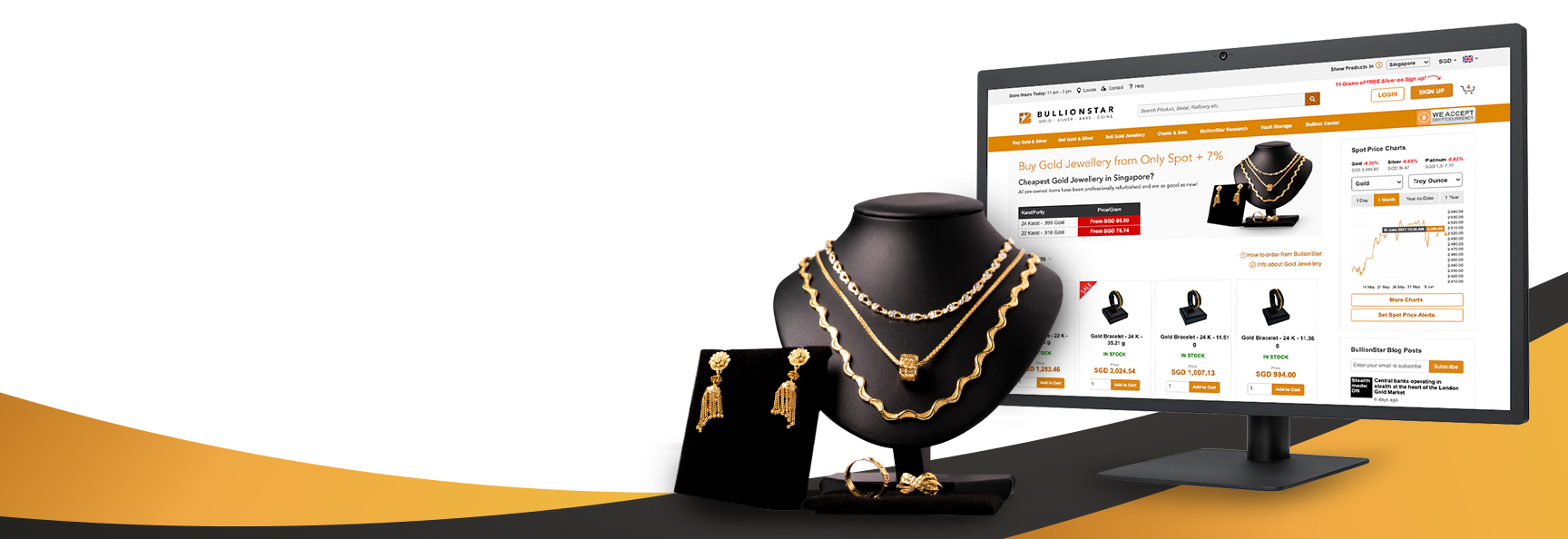 Gold Jewellery on Sale Now