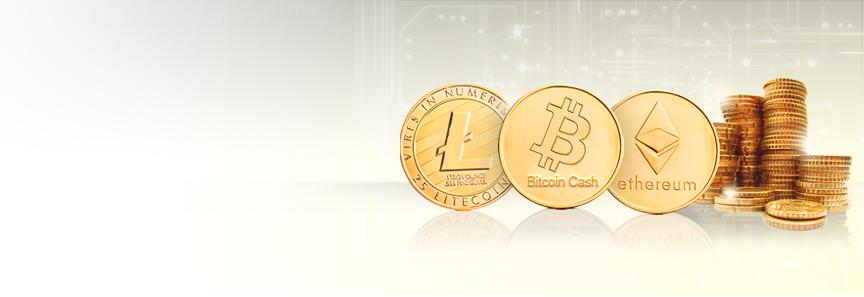 Ethereum, Bitcoin Cash, Litecoin Now Accepted