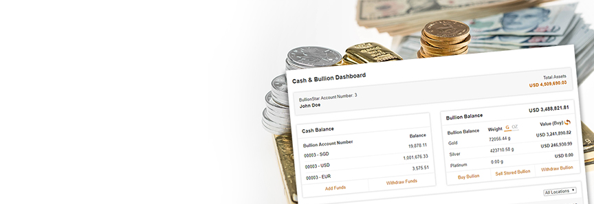 Keep Funds on Your BullionStar Account!