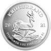 South African Silver Proof Krugerrands