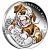 Australia Silver English Bulldog 2018 - 1/2 oz