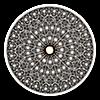 Fiji Silver Mandala Art Gothic 2019 - Antique Finish  - 3 oz