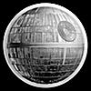 Niue Silver Star Wars 2018 - Death Star - Ultra High Relief - 2 oz
