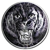 Tanzania Silver Black Panther - With box and certificate of authenticity - 2 oz