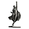 New Zealand Silver Superman 80th Anniversary Statue - Antiqued Finished - 150 g