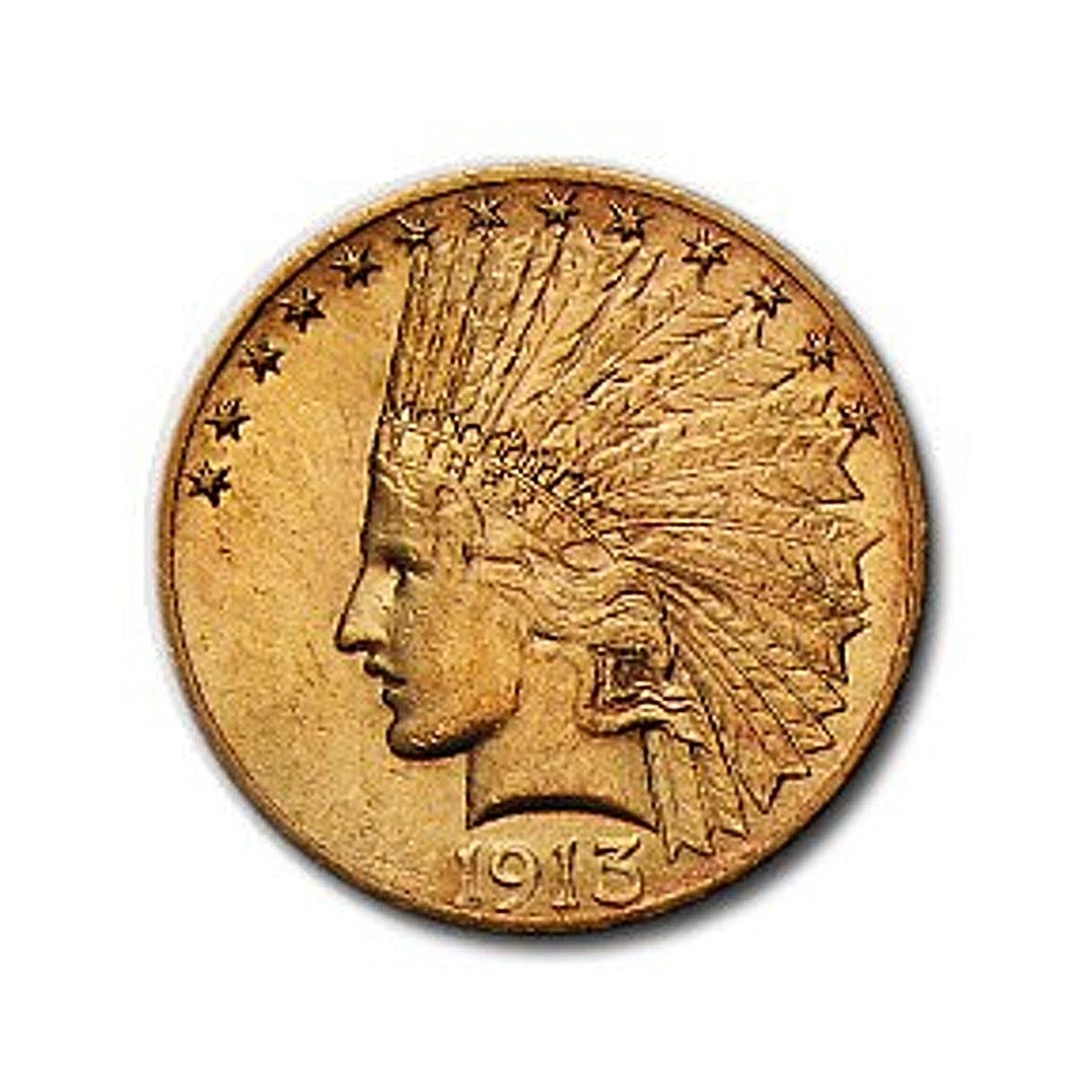 Indian Gold Eagle (USA) 1913