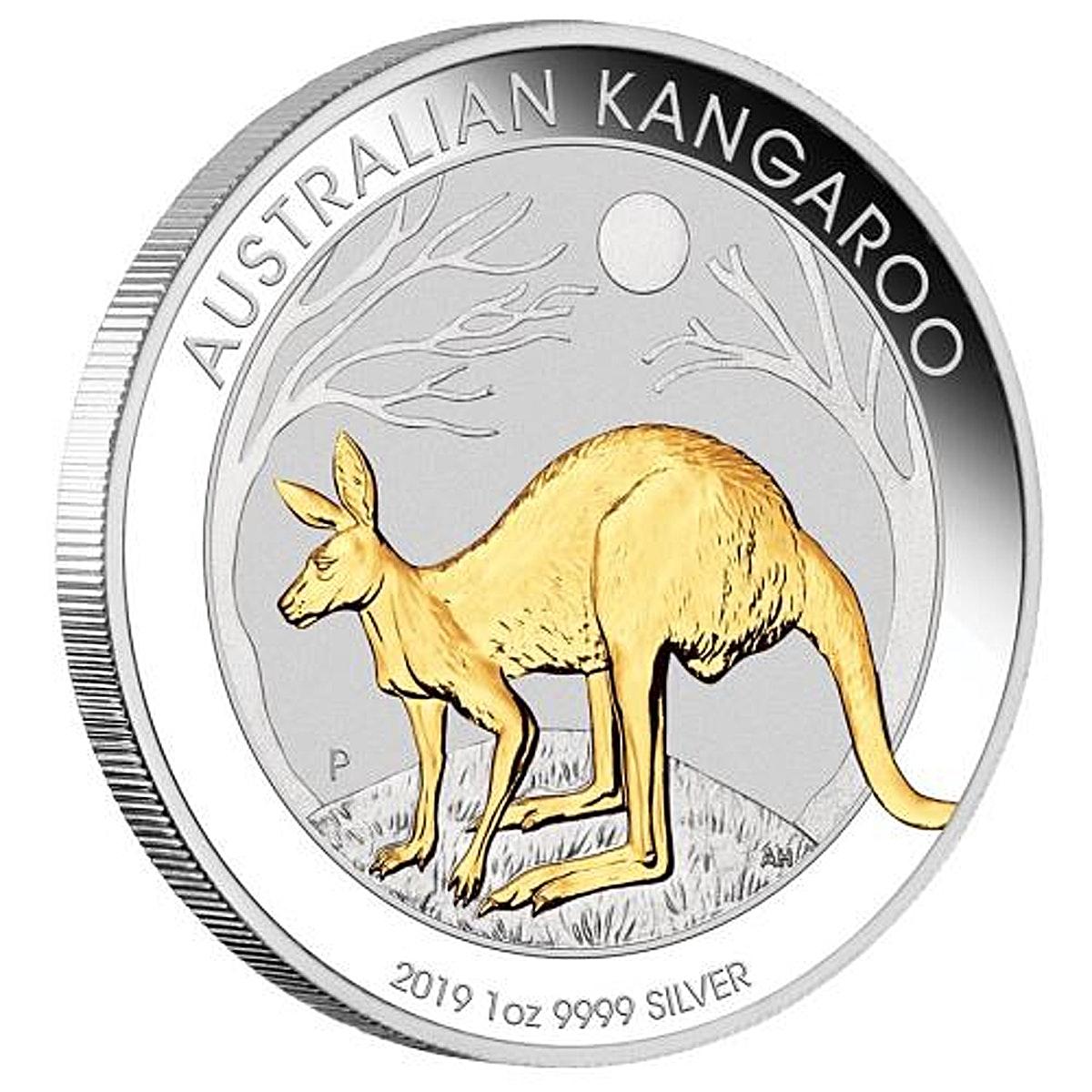 Australian Silver Kangaroo 2019