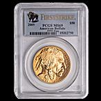 American Gold Buffalo 2009 - Graded MS 69 by PCGS - 1 oz thumbnail