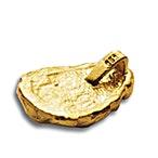 Degussa Gold Nugget Pendant - 10 g  thumbnail